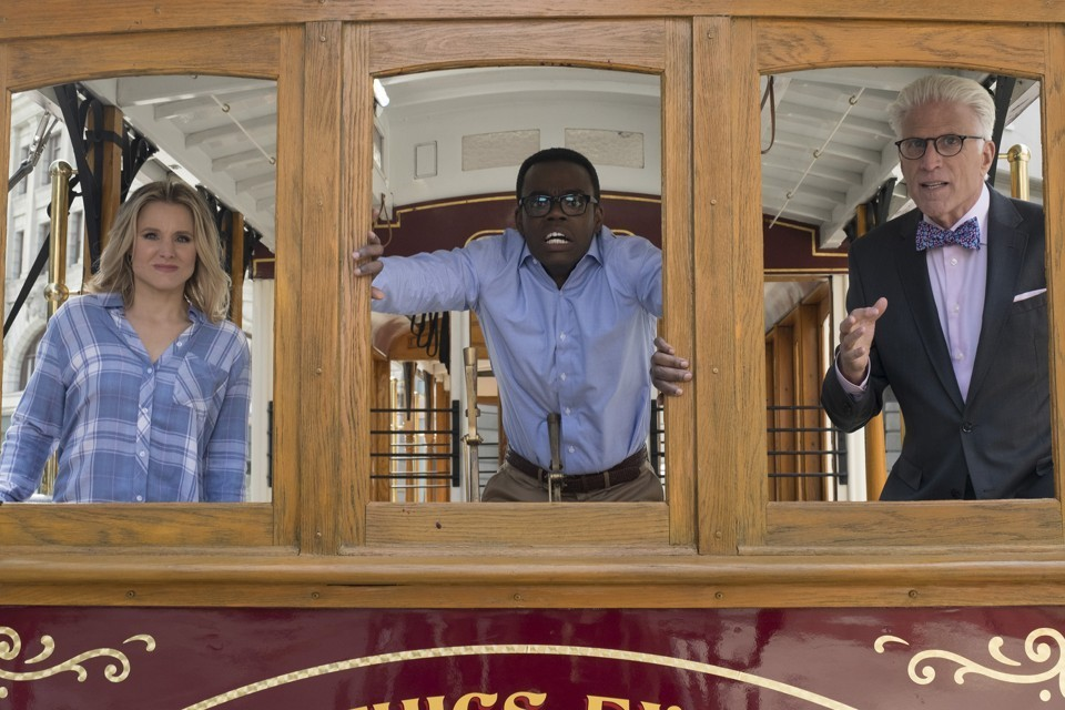The Good Place/ The Trolley Problem