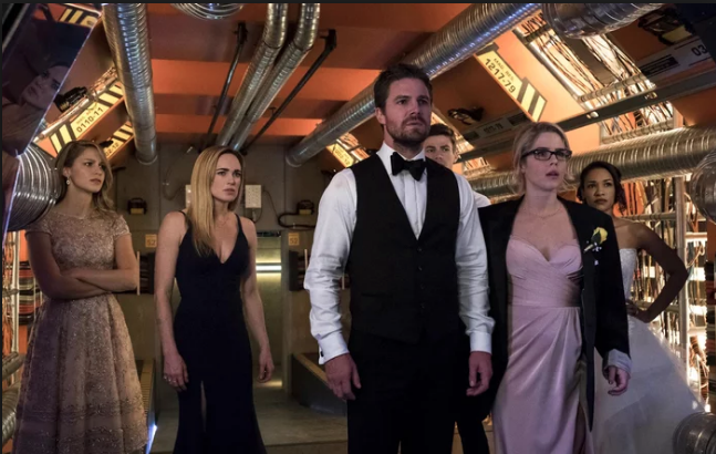 Supergirl Arrow Crisis on Earth X