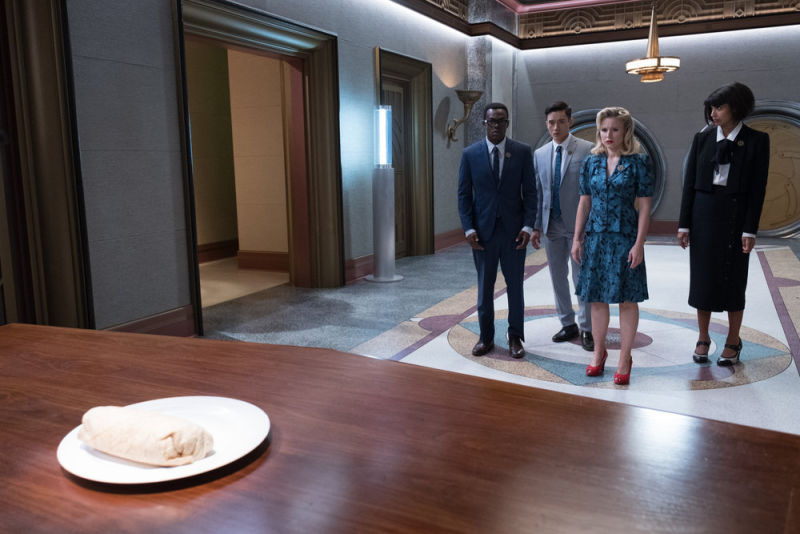 The Good Place Burrito