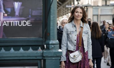 Liza takes on New York City after modeling for Infinitely 21 on 'Younger.'