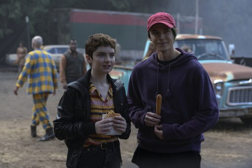 Robin Goodfellow and Kurtz Chilling Adventures of Sabrina