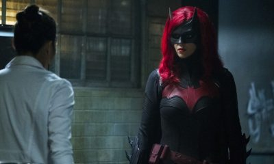 Batwoman Grinning from Ear to Ear Review