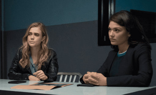 Ellen Tamaki and Melissa Roxburgh on Manifest
