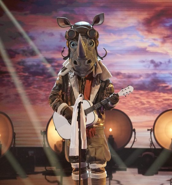 "Rhino on THE MASKED SINGER ""A Day in the Mask: The Semi Finals"" Season 3 Episode. Courtesy of FOX TV / Photo credit: Michael Becker."