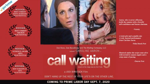 Caroline Aaron Stars in Call Waiting on Amazon Prime