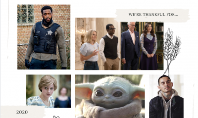 TV Show Things We're Grateful for in 2020