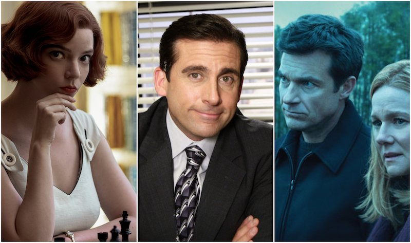 What were the Top 10 Shows on Netflix in 2020?