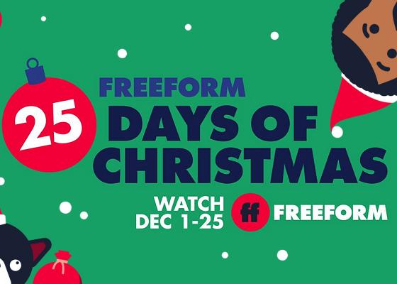 Freeform 25 days of Christmas 2020 lineup