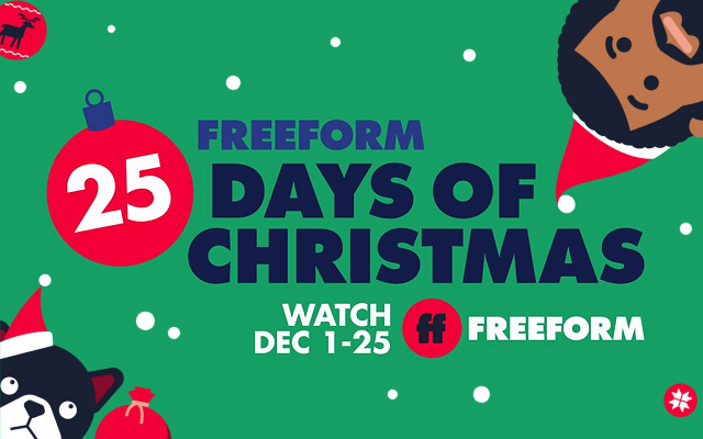 Freeform 25 days of Christmas 2020 lineup