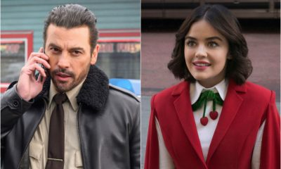 'Katy Keene's Lucy Hale and 'Riverdale's Skeet Ulrich Spotted Kissing