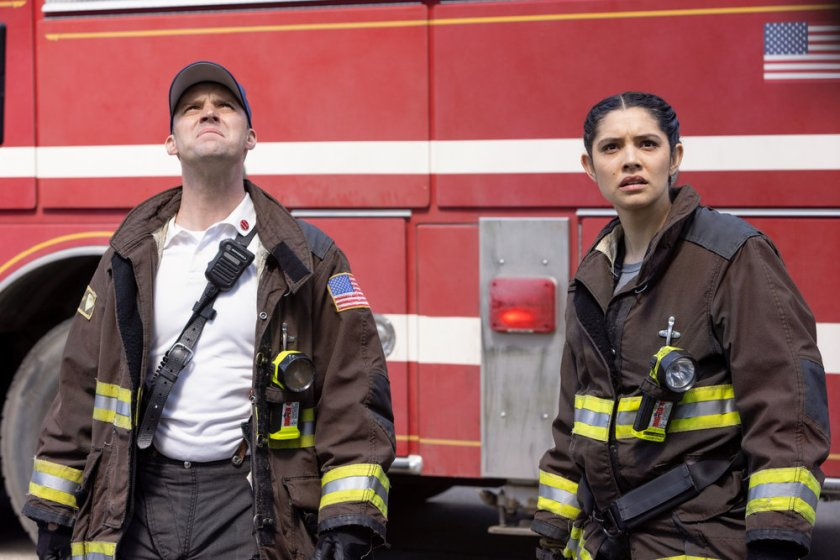 Chicago Fire Review Don't Hang Up