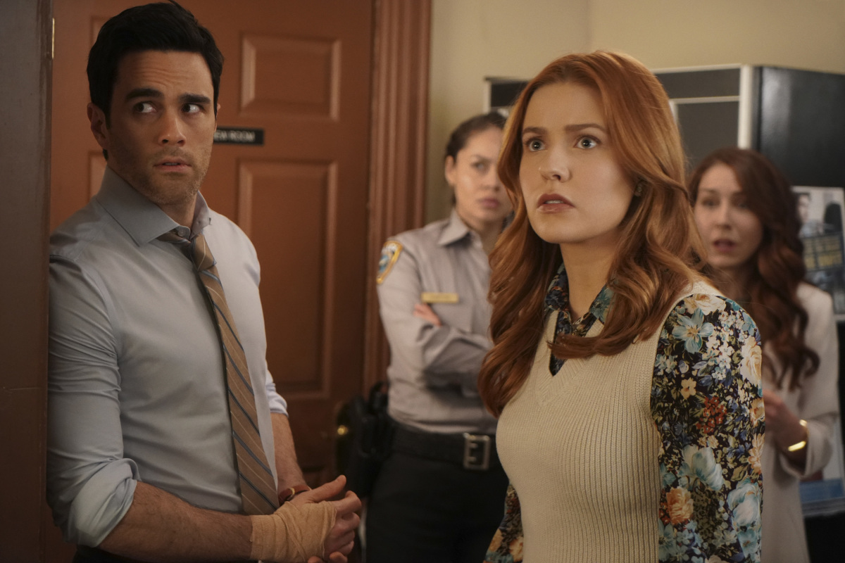 Nancy Drew Review The Siege of the Unseen Specter Season 2 Episode 14