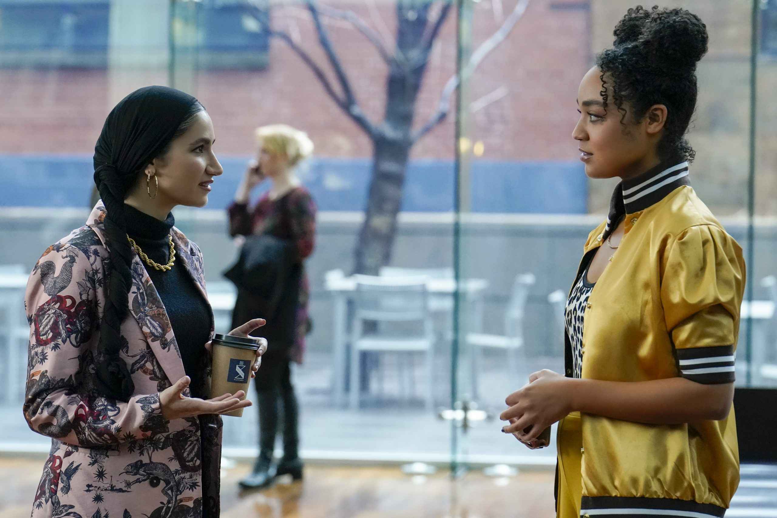 Kat and Adena on The Bold Type (5x05)