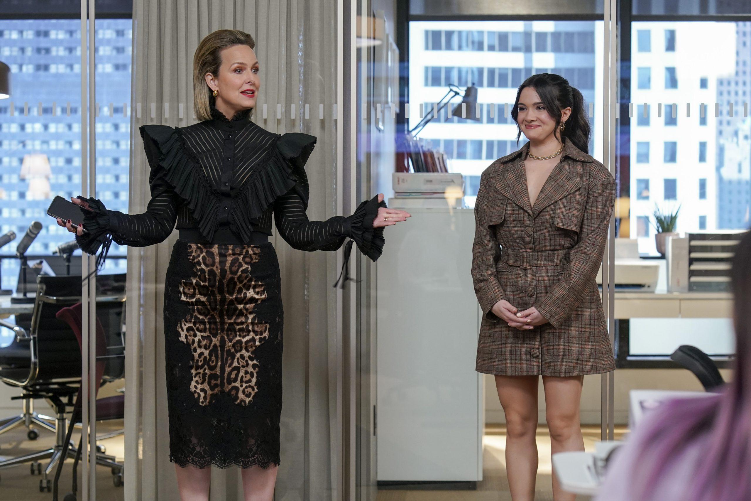 Jacqueline and Jane on The Bold Type Season 5 Episode 5