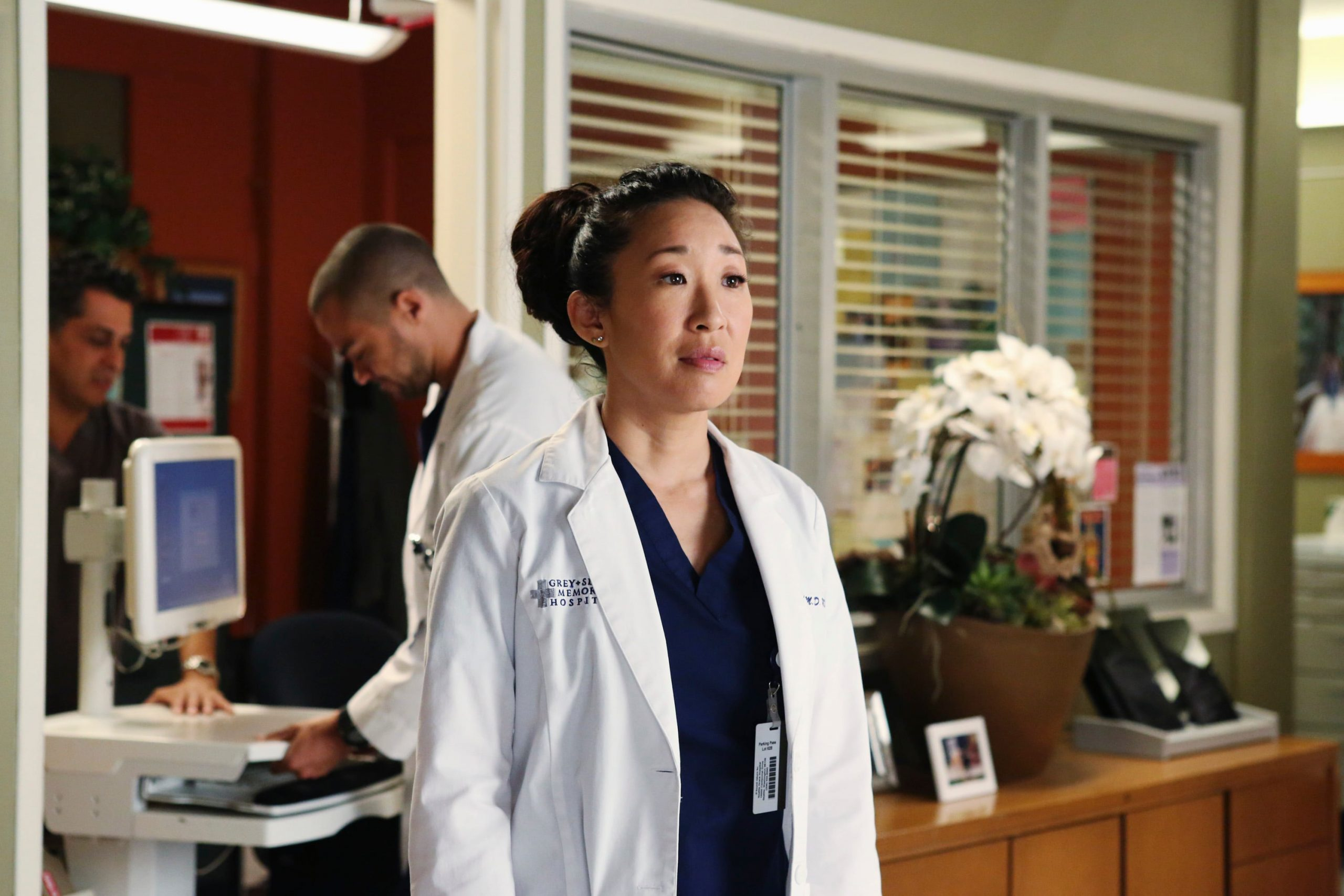 Cristina Yang on Grey's Anatomy
