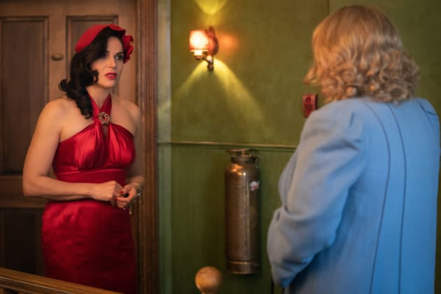 Why Women Kill Review Dangerous Intruder Season 2 Episode 6