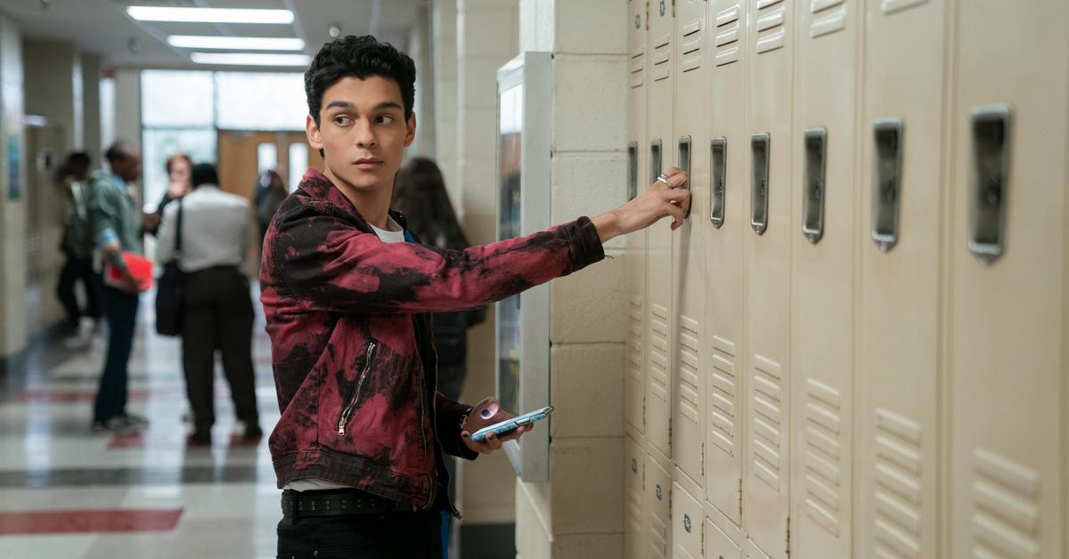 Rahim at his locker