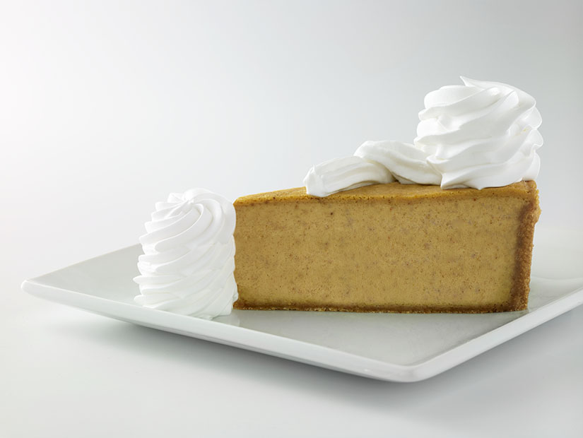 Cheesecake Factory Treating Customers to Pumpkin, Pumpkin Pecan Cheesecakes Cheesecake This Fall